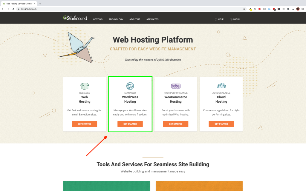 Get Domain and Hosting #1